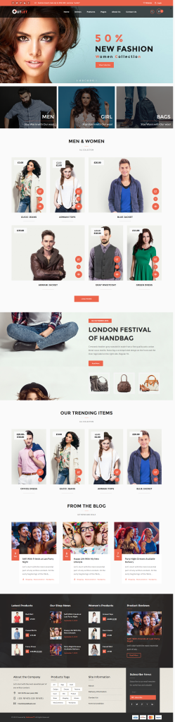 eCommerce WordPress Theme to Build A Shop - Outlet
